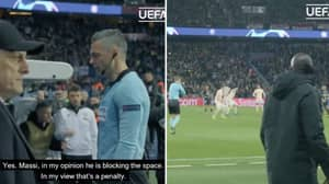 UEFA Release Rare Footage Of Referees And VAR Officials Conversing On Controversial Penalty Calls