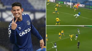 Insane Compilation Of James Rodriguez Vs Brighton Proves He Is The Summer's Biggest Bargain