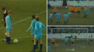 It's Been 50 Years Since The Free-Kick So Genius It Was Banned Immediately