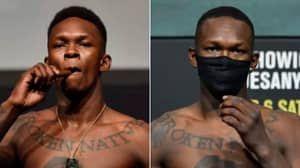 Side-By-Side Photos Of Israel Adesanya's Incredible Body Transformation Ahead Of UFC Light-Heavyweight Title Bout