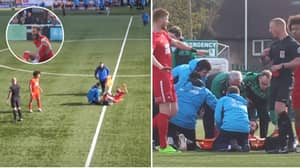 Leyton Orient Player Throws Boot In Frustration After Dislocating Ankle, Gets Sent Off