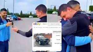 You Can Now Buy Sergio Aguero's Range Rover On eBay