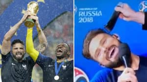 Olivier Giroud Promised To Shave His Head If France Won The World Cup