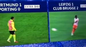 The Most Perfectly Timed Moment In Football History Happened During Last Night's Coverage