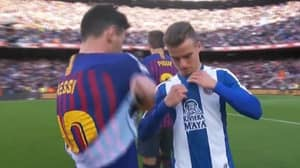 Espanyol Fans Tell Adria Pedrosa To Leave The Club After He Swaps Shirts With Lionel Messi