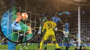 The Angle Not Used In VAR Review For Fernando Llorente's Goal Against Manchester City