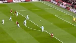 Watch: Alex Oxlade-Chamberlain Scores A Rocket Against Manchester City
