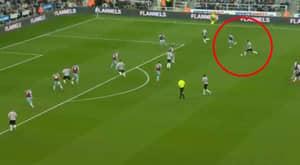 Newcastle United Defender Fabian Schär Scores A 25-Yard Worldie Against Burnley