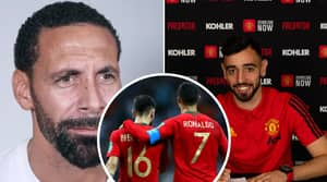 Rio Ferdinand Reveals Cristiano Ronaldo's Thoughts On Bruno Fernandes