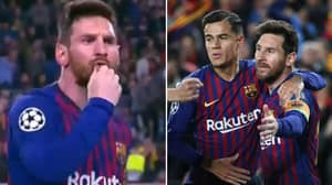 Lionel Messi Tells Barcelona Fans To Stop Booing Coutinho After His First Goal