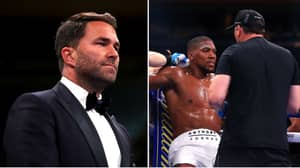 Hearn Denies Rumours Joshua Had A Panic Attack Before Ruiz Jr Loss Amid Calls For 'AJ' To Sack His Trainer