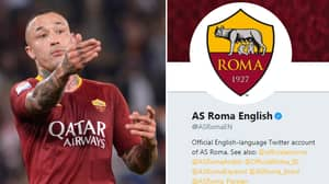 AS Roma Sent Out The Most Random Tweet Thanking Premier League Player For No Reason