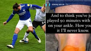 Cardiff Defender Sean Morrison Played With 'Half His Heel Missing' As He Shows Off Grim Injury