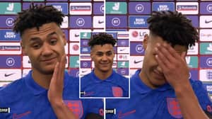 Ollie Watkins Gave An Emotional Interview After Scoring On His England Debut At Wembley