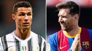 Cristiano Ronaldo Hailed As GOAT Ahead Of 'Genius' Lionel Messi After Breaking Another Record