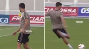 Cristiano Ronaldo Proves That He's Still The Master Of Moving The Ball