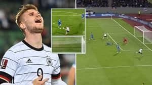 Timo Werner Missed An Absolute Sitter In Germany's Win Against Iceland