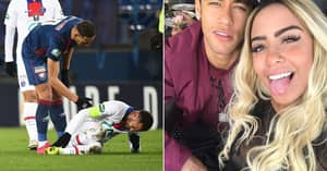 Fans Think Neymar Went Off Injured For PSG Because Of Sister's Birthday