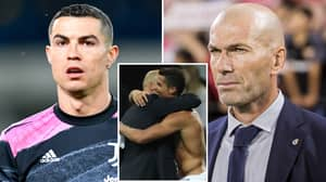 Zinedine Zidane Responds To Rumours That Real Madrid Will Make A Swoop For Cristiano Ronaldo