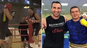 What Happened When Oleksandr Usyk Sparred Wladimir Klitschko For One Round