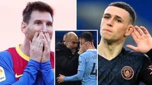 'Man City Star Phil Foden Is In The Same Category As Barcelona Captain Lionel Messi'