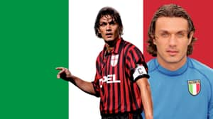 AC Milan Legend Paolo Maldini Voted The Best Defender Of All Time