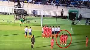 WATCH: Japanese High School's 'Dancing Wall' Free-Kick Routine Will Blow Your Mind