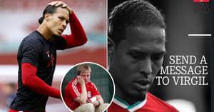Liverpool Fans Ridiculed As Virgil Van Dijk 'Message Book' Is Taken Down