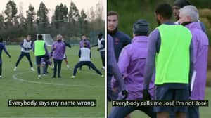 Jose Mourinho Taught The Spurs Squad How To Pronounce His Name In Training