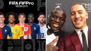 FIFPro World XI Revealed At FIFA's 'The Best' Awards