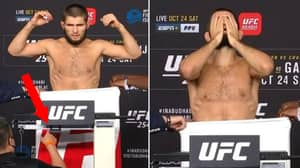 Fans Think Khabib Nurmagomedov Didn't Make Weight Ahead Of UFC 254 Main Event With Justin Gaethje