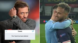 Peter Crouch Deletes Tweet About Phil Foden And Neymar After Manchester City Beat PSG In Champions League