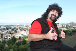 WWE Hall Of Famer Mick Foley Shows Off A New Look