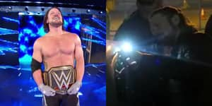 WWE World Champion AJ Styles Locked Out Of Rental Car After Smackdown Show