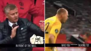 New Footage Shows What Was Being Said During Manchester United 5-2 Bournemouth