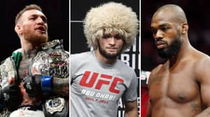 The 10 Greatest UFC Fighters Of All Time Have Been Ranked By MMA Fans