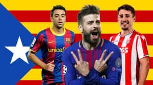 Gerard Pique And Xavi Hernandez Named In Catalonia Squad For Game Against Venezuela