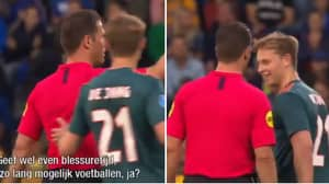 Frenkie De Jong Didn't Want His Final Ajax Game To End