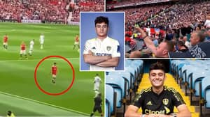 """Leeds Fans Chanted """"You're Too S**t To Play For Leeds"""" At Dan James Just 17 Days Ago"""