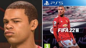 Manchester United Star Mason Greenwood Has FINALLY Been Given A Game Face On FIFA 22