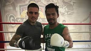 George Kambosos Jr Has Done 250 Rounds Of Sparring With Legendary Boxer Manny Pacquiao