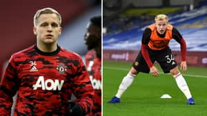 Donny Van De Beek Offered Escape Route Out Of Manchester United