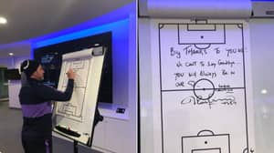 Mauricio Pochettino Left A Touching Message In The Spurs Dressing Room