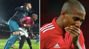 Dusan Tadic Reveals What Ashley Young Said To Him After Elbow And It's Actually Ridiculous