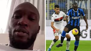 Romelu Lukaku Brilliantly Shut Down A Fan Who Asked 'Rate Your First Touch'