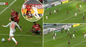 Leroy Sane Single-Handedly Humiliates Entire Defence To Register Assist For Bayern Munich