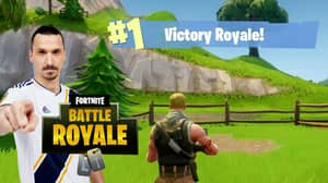Zlatan Ibrahimovic Is Now Playing Fortnite And It's The Best Thing Ever