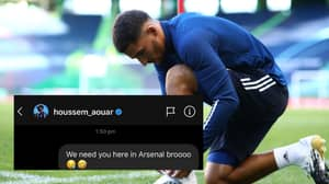 Rapper M Huncho Gets A Reply From Houssem Aouar After Trying To Get Him To Sign For Arsenal