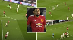 Bruno Fernandes Compilation Vs Roma Shows He Delivered A Masterclass Performance For Man United