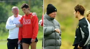 How Cristiano Ronaldo Reacted When Sir Alex Ferguson Shouted At Him For The First Time